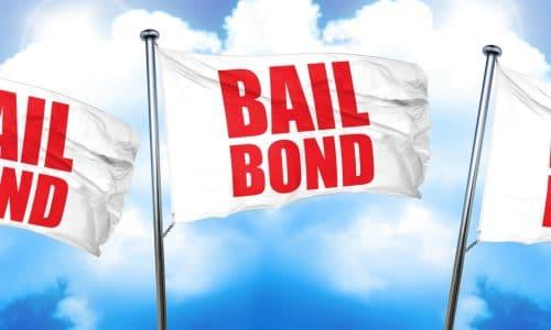bailbond, 3D rendering, triple flags