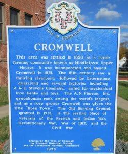 Cromwell Marker