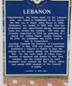 Lebanon Marker