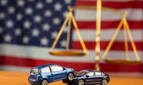 Car accident need to justice in case can not negotiations in American law.