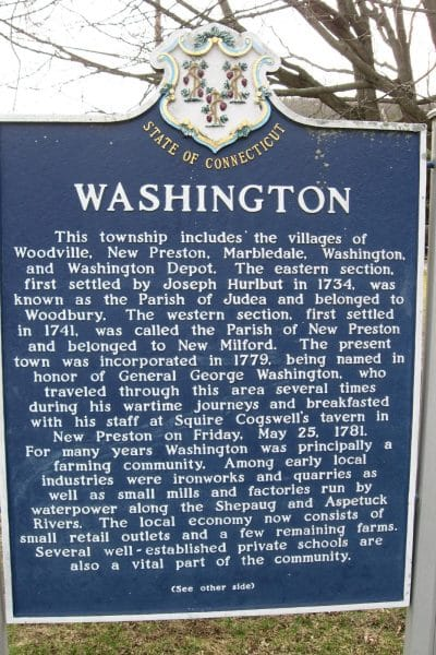 Washington Marker [front]