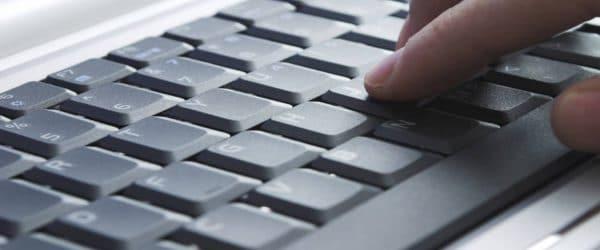 computer crime bail bonds - computer keyboard